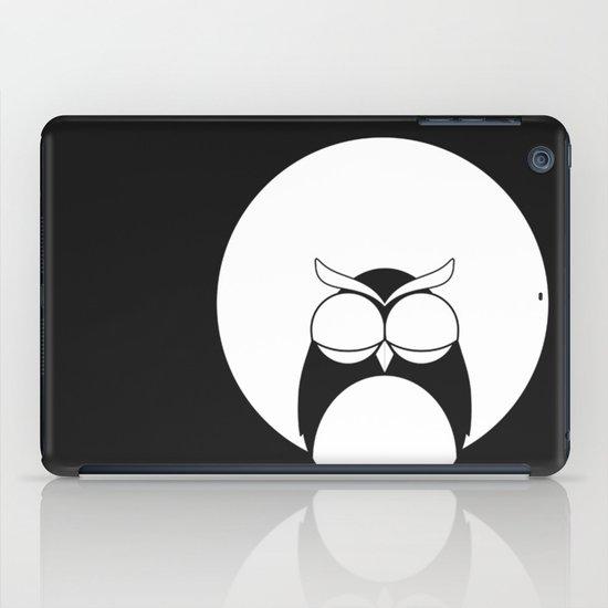 Sleepy owl iPad Case