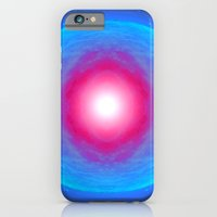 Pink Point Moon. iPhone 6 Slim Case