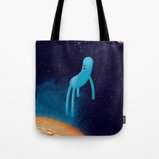 b l u Tote Bag