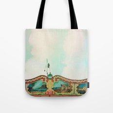 Summer Carousel Tote Bag