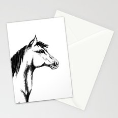 'Another Horse Profile' by Ave Hurley Stationery Cards