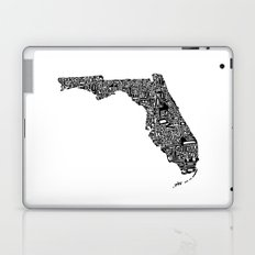 Typographic Florida Laptop & iPad Skin
