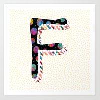 F ii (Coffee Series) Art Print