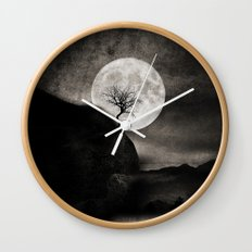 The Moon and the Tree.. Wall Clock