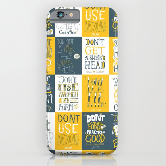 Major Taylor Grid iPhone & iPod Case