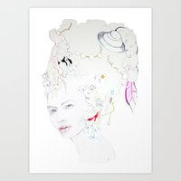 Marie Antoniette Art Print