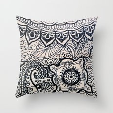 Four sides of a box (ii) Throw Pillow