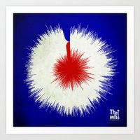 The Who, My Generation - Soundwave Art Art Print