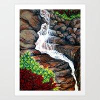 Red River Art Print