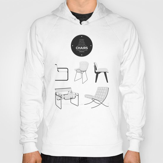 CHAIRS - A tribute to seats (special edition) Hoody