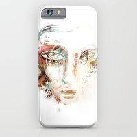 iPhone & iPod Case featuring WHITEOUT by Irmak Akcadogan