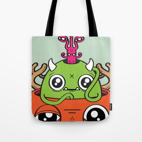 Monster Mind Tote Bag