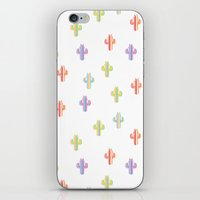 Catctus Multicolor iPhone & iPod Skin