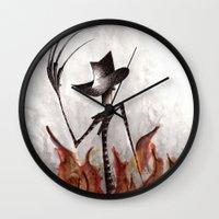 Nightmare On Elm Wall Clock