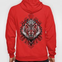Wolf Tattoo Style Haida … Hoody