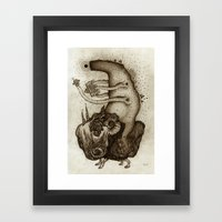 L O S T  Framed Art Print