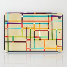 The map (after Mondrian) iPad Case