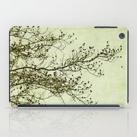 awaiting spring iPad Case