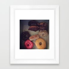 do nuts. Framed Art Print