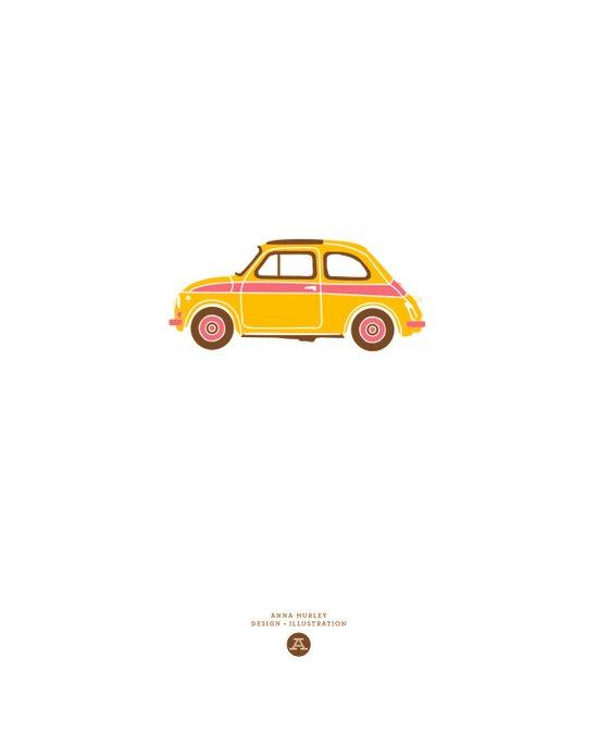 Fiat Art Print
