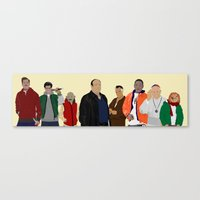 Characters - Modern outfit version Canvas Print