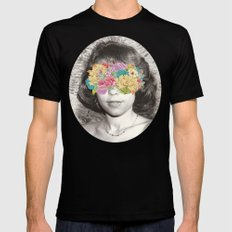 Her Point Of View SMALL Mens Fitted Tee Black