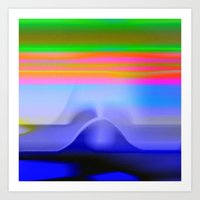 Blind with View 101 Art Print
