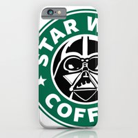 iPhone & iPod Case featuring Star Wars Coffee by Royal Bros Art