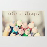 Color It Vintage Rug