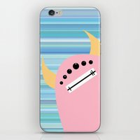 Pink Monster iPhone & iPod Skin