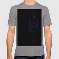Dreamer's Disease Mens Fitted Tee Athletic Grey SMALL