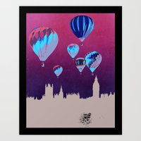 Sky of London Art Print
