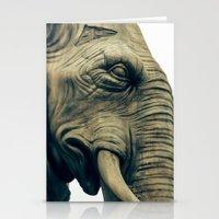 L'éléphant De La Basti… Stationery Cards