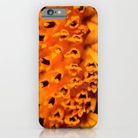 iPhone & iPod Case featuring In your face yellow by susivinh