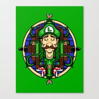 Luigi's Lament Canvas Print