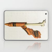 To The Core: Orange Laptop & iPad Skin