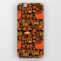 Pumpkin Pattern iPhone & iPod Skin
