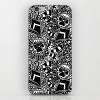 Theta Print iPhone & iPod Skin
