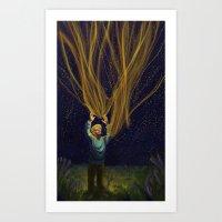 Jaime's Star Art Print