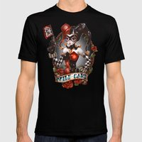 WILD CARD (blackout Vari… Mens Fitted Tee Black SMALL