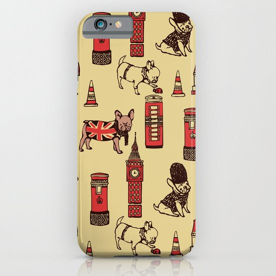 London Frenchies iPhone & iPod Case