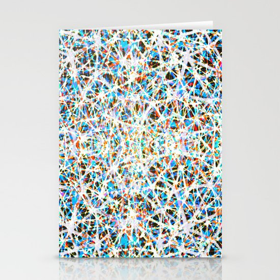 Color threads    Stationery Card