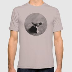 Quiet Fawn Mens Fitted Tee Cinder SMALL