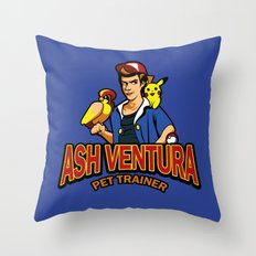Ash Ventura Throw Pillow