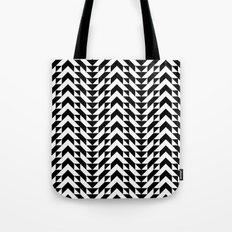 Geometric Chevrons Tote Bag