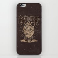Great Thoughts  iPhone & iPod Skin