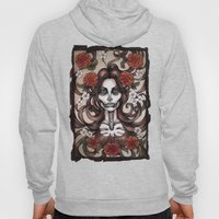 Blossoming Day of the Dead Hoody