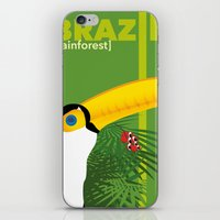 Brazil [rainforest] iPhone & iPod Skin