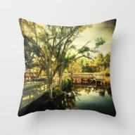 Throw Pillow featuring  Reverie by JMcCool