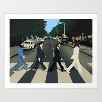 Abbey Road Art Print
